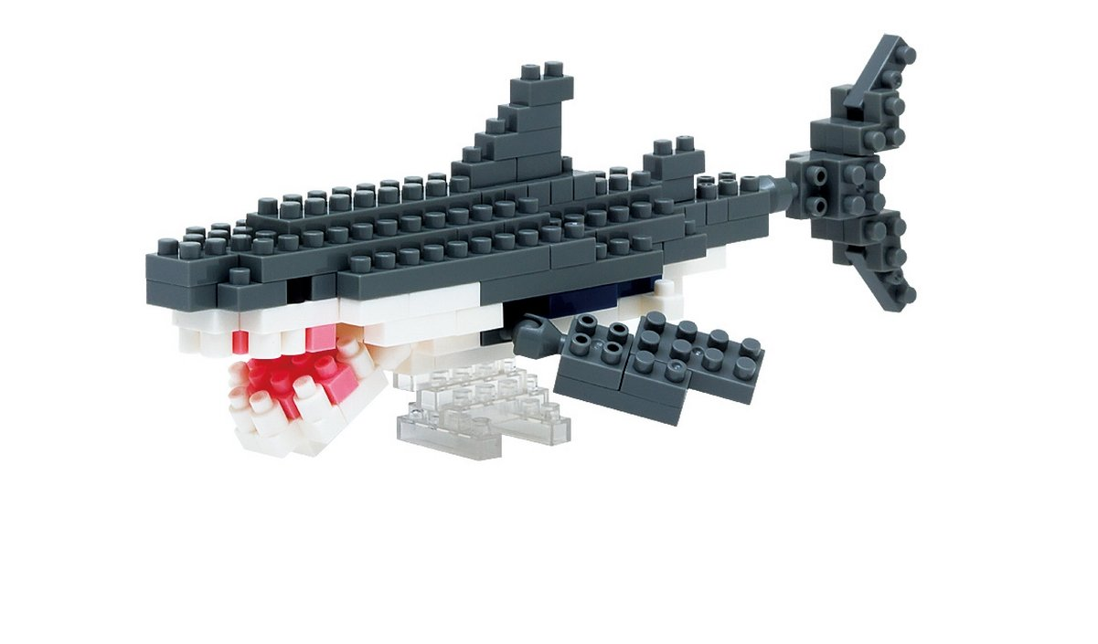 Nanoblock Great White Shark Building Kit