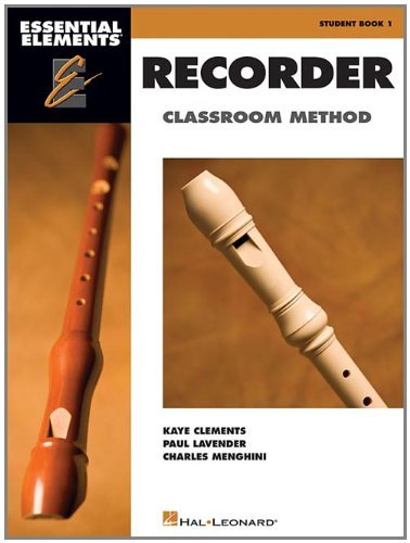 Hal Leonard Essential Elements For Recorder Book/CD Pack