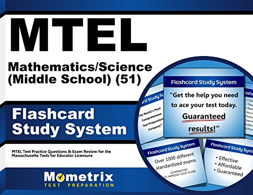 MTEL Mathematics/Science (Middle School) (51) Flashcard Study System: MTEL Test Practice Questions & Exam Review for the Massachusetts Tests for Educator Licensure (Cards)