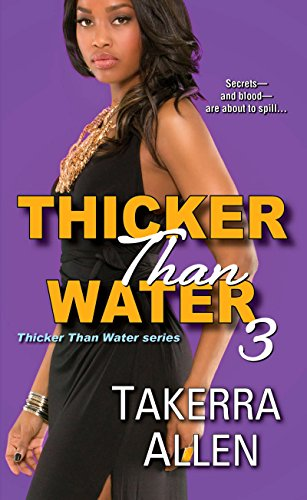 book cover of Thicker Than Water 3