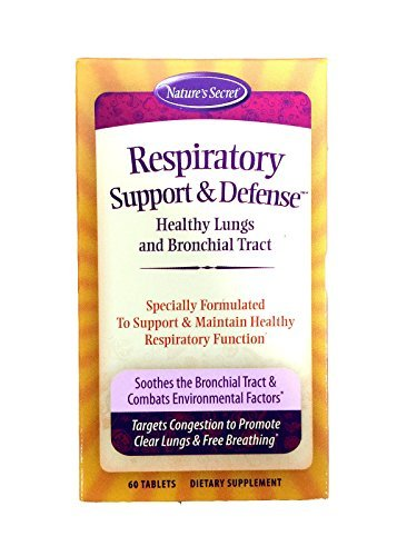 Nature's Secret Respiratory Support & Defense, 60-Count B...