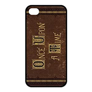 TOPPEST Design TV Show Once Upon A Time Printed on iPhone 4/4S Case,Movie Rubber TPU Case,Best iPhone 4 Case