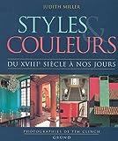 Styles et couleurs, du XVIIIe siècle à nos jours