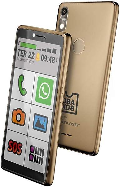Celular para idosos com Internet e WhatsApp Oba Smart 3 Gold Obabox Original