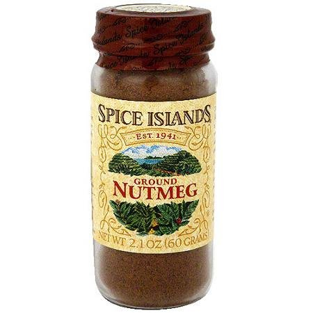 Spice Islands Ground Nutmeg, 2.1oz, 2 jars