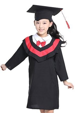 BOZEVON Children Boys Girls School Graduation Gowns 340e2f1a4d8f