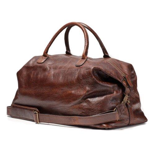 Moore and Giles American Bison Benedict Weekend Bag