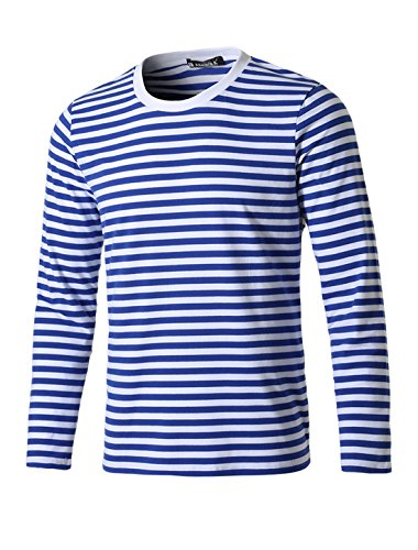 uxcell Allegra Casual Pullover Striped