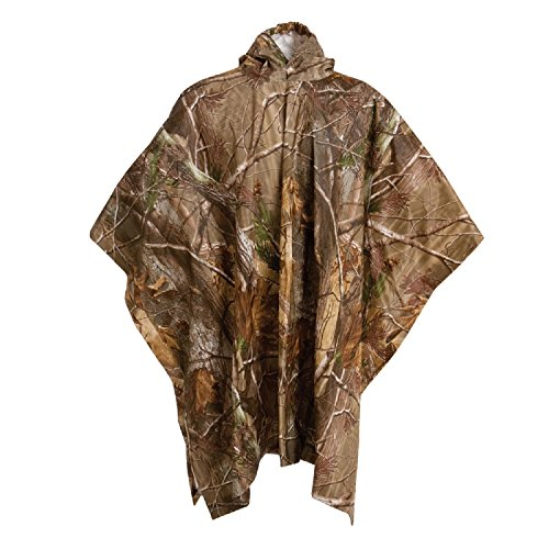 Arctic Shield Camo - Onyx-Arctic Shield-X-System Unisex Child Youth PVC Poncho (Realtree All Purpose camo Pattern, Youth Universal/45x72-Inch)