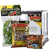 """Zoo Med Creatures Creature Habitat Kit, 8.5 by 11"""", for Pet Spiders Insects amp; Other Invertebrates"""