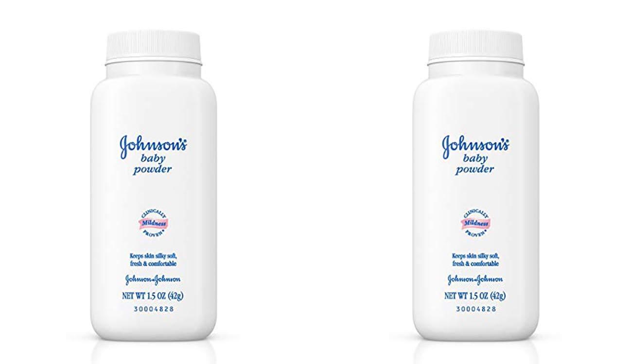 Johnson's Baby Powder, Travel Size, 1.5 Oz. 2pack
