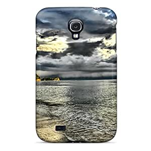 Hard Plastic Galaxy S4 Case Back Cover,hot The Silver Beach Case At Perfect Diy