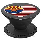 Arizona Flag Heart Design USA American F