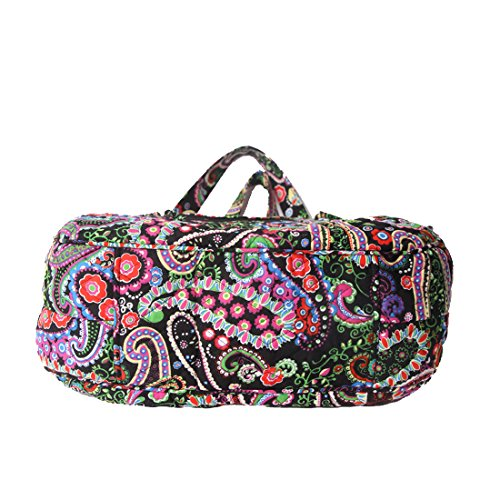 Spring Bag Shoulder Quilted Cotton Paisley Bags Handle pqYnBfwH