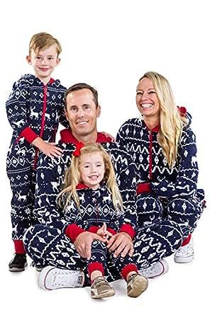 Amazon.com: Matching Family Christmas Pajamas - Red and ...