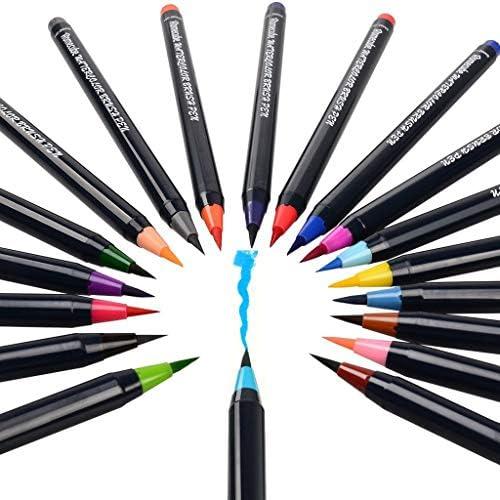 [해외]Water Coloring Brush Pen Set20 Pointed Round Tip Calligraphy Pen Nylon Soft Brush Paint Pen / Water Coloring Brush Pen Set20 Pointed Round Tip Calligraphy Pen Nylon Soft Brush Paint Pen