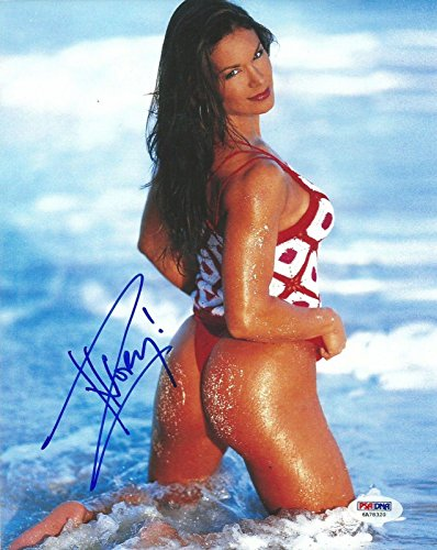 ivory-signed-wwe-8x10-photo-coa-diva-picture-autograph-glow-lisa-moretti-psa-dna-certified-autograph