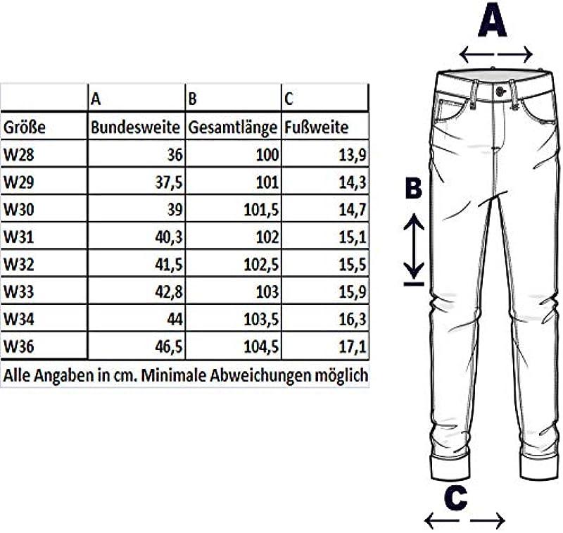 Code47 Męskie dżinsy spodnie męskie, spodnie dżinsowe Washed Denim Denimjeans Straight Cut Slim Fit Stretch Basic Stretch Designer czarny Niebieski Szary Chino W28-W36: Odzież