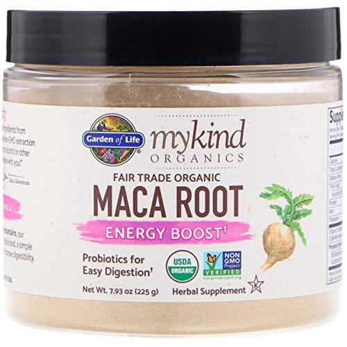 Garden of Life, MyKind Organics, Fair Trade Organic Maca Root, Energy Boost, 7.93 oz (225 g) ()