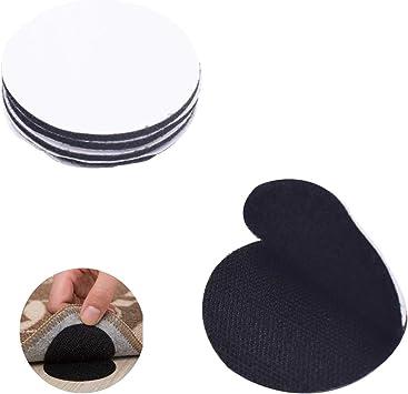 oficina de 5 cm cinta adhesiva de color negro sof/á negro reutilizables almohadones 20 tiras de velcro autoadhesivas para cojines de sof/á con cinta adhesiva para el hogar entrelazables