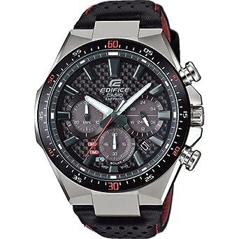 Casio Reloj Analógico para Hombre de Cuarzo con Correa en Acero Inoxidable EFS-S520CBL-1AUEF: Amazon.es: Relojes