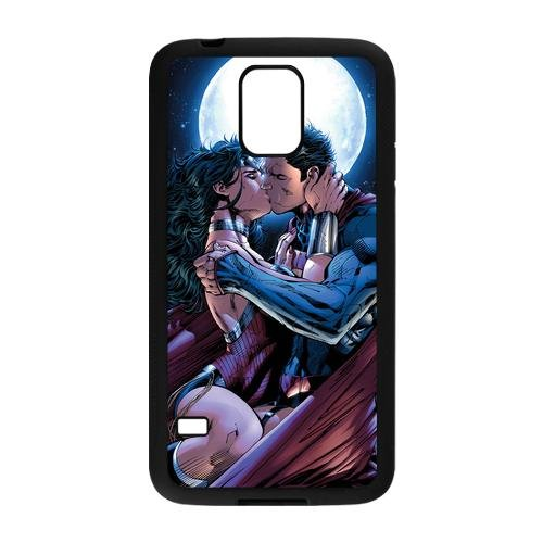 Customize Cartoon Wonder Woman Back Cover Case for Samsung Galaxy S5