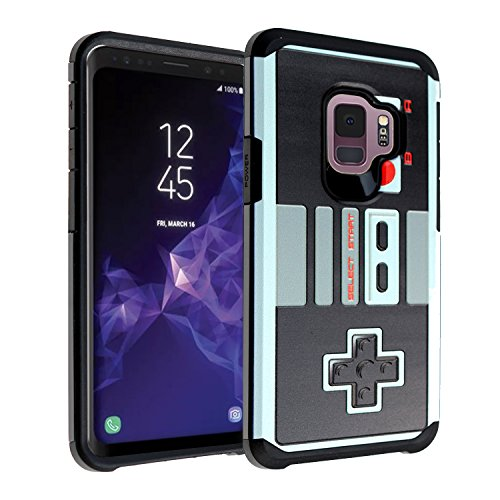 Galaxy S9 NES Game Controller Case, DURARMOR Dual Layer Hybrid ShockProof Slim Fit Armor Cover for Galaxy S9 (2018) NES Review