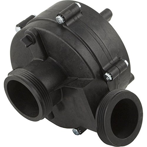 Balboa 1215186 Vico Ultimax 3HP Wet End Side Discharge Spa Pump (Ultimax Pump Spa)