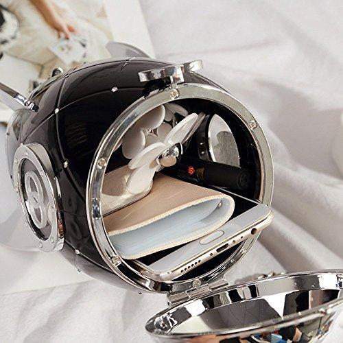 à Et à Américaine De Fusée Mode Main Nouvelle en Tendance Fashion Sacs YXLONG à Bag Black Main Européenne Bandoulière Acrylique Sac Sacs Seau Ywat8I