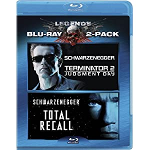 Terminator 2: Judgment Day / Total Recall (Two-Pack) [Blu-ray] (2010)