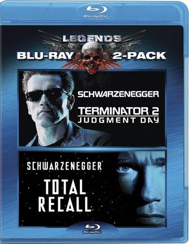 Terminator 2: Judgement Day & Total Recall 2 Blu-Ray Edizione ...