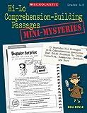Hi-Lo Comprehension-Building Passages: Mini-Mysteries, Bill Doyle, 0545124085