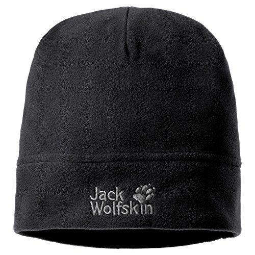 Jack Wolfskin Damen Mütze Real Stuff, black, 55-59 cm, 19590-60559
