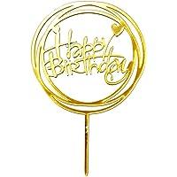 babysbreath17 Feliz Cumpleaños Sticks acrílico Cake Toppers selecciones
