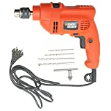 Black & Decker KR504RE 500-Watt 10mm Keyed VSR RBS Hammer