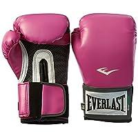Guantes de entrenamiento Pro Style de Everlast para mujeres, rosa - 8 oz.