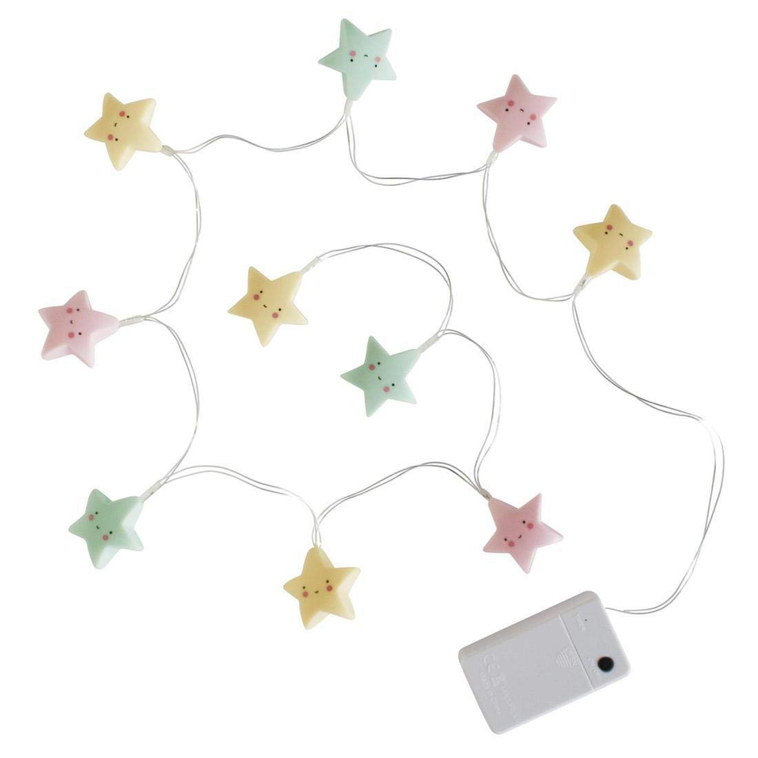 A Little Lovely Company ltst049 – Chain Lights with form of Stars