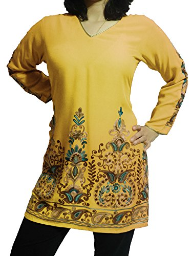 Exquisite-Tunic-Hand-Embroidery-With-Black-Pants-Customizable