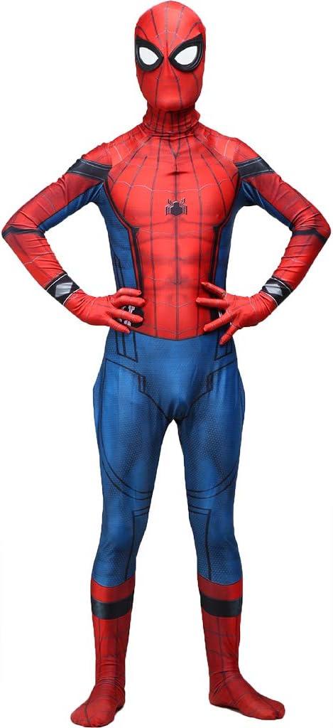 QWEASZER Marvel Avengers Spider-Man Disfraz Adulto Película ...