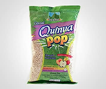 Quinoa Pop (Natural, 100g)(GLUTEN-FREE)
