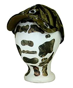 FACE AWAY Stick-On Peel-Off Face Camouflage - RealTree Hardwoods