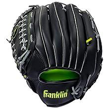 "Franklin Sports Hand Orientation: Left Handed Thrower - Style: 12"" - Color: Black"
