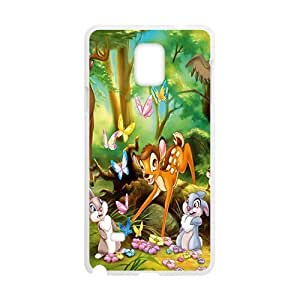 Happy Bambi Case Cover For samsung galaxy Note4 Case
