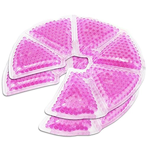 Hpa Lanolin (Breast Therapy Gel Pads for Breastfeeding - 3 in 1 Nursing Ice Pack to Relieve Mastitis, Decrease Engorgement, Encourage Let Down and Increase Milk Production - Compatible with Most Breast Pumps)