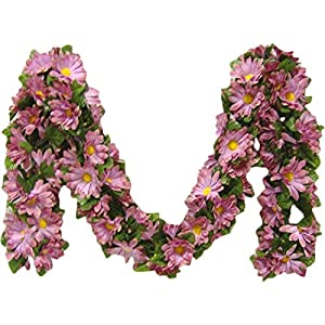 Kampoojoo - Mauve Daisy Garland Silk Flowers Wedding Arch Chuppah Centerpieces 100