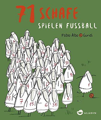 71 Schafe spielen Fussball