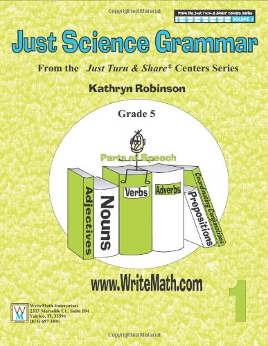 Grammar Science Worksheets - 5th Grade (Just Turn and Share, 5th ...