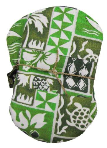 Akamai Set of 2 Maui Micro Mitts Microwave Potholder Mitten Tree Green -