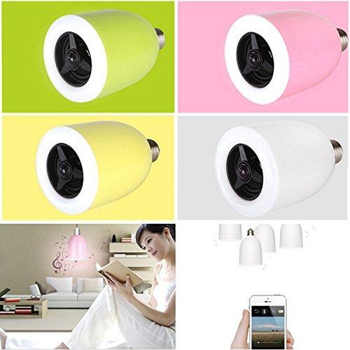 E27 LED Lamp Bluetooth 4.0 Music Audio Speaker Bulb APP Controller