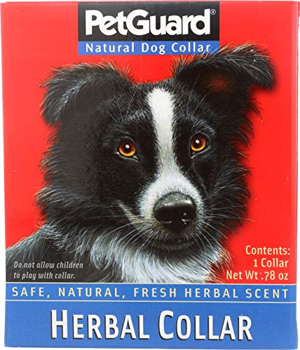 PETGUARD Herbal Collar for Dogs, 0.2 Pounds (Boutique Dog Collars)